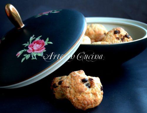 Biscotti senza burro alla ricotta