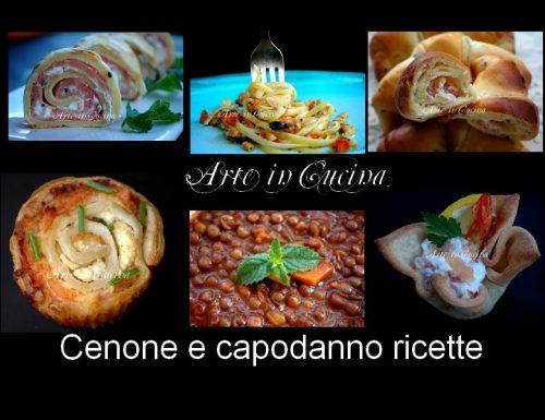 Cenone e capodanno 2012 2013 ricette