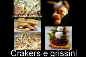 Crakers e grissini