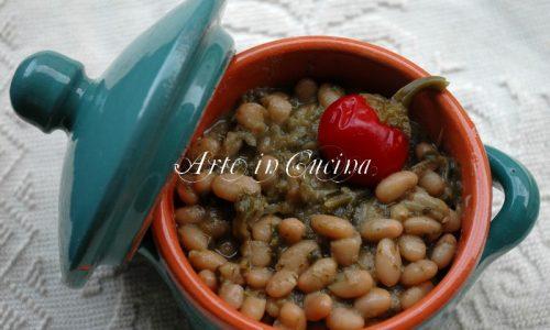 Fagioli e minestra ricetta facile della nonna