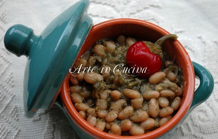 Fagioli e minestra ricetta facile
