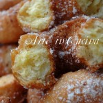 Ciambelle di Carnevale fatti fritti