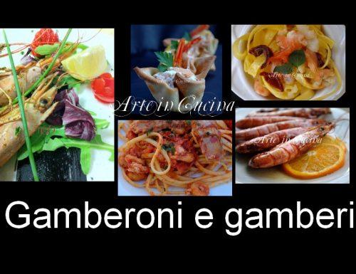 Gamberoni e gamberi ricette veloci cenone di capodanno