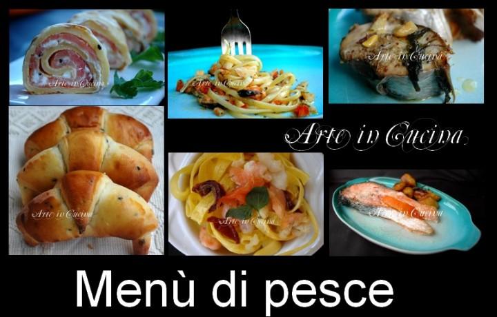 Cenone capodanno menu ricette pesce