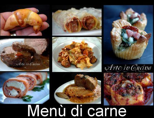 Cenone di capodanno menu ricette carne