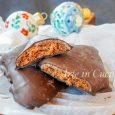 Mostaccioli napoletani al cioccolato ricetta dolci natalizi vickyart arte in cucina