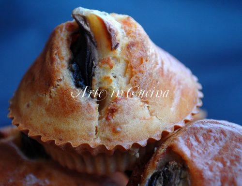 Muffin salati salmone e funghi ricetta antipasto