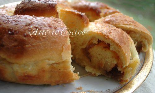 Pan brioche al limone e amaretti ricetta colazione