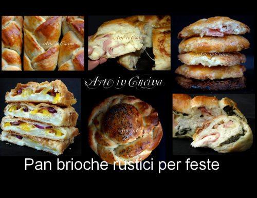 Menu 2012 pranzo Natale e vigilia antipasto pan brioche salati