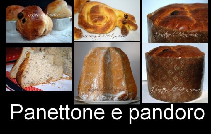 Panettone e Pandoro ricette dolci natalizi