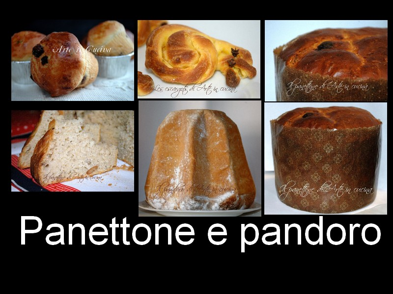 ricetta panettone e pandoro