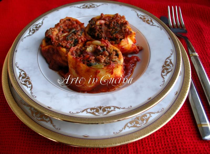 Pasta al forno con carne e verdura vickyart arte in cucina