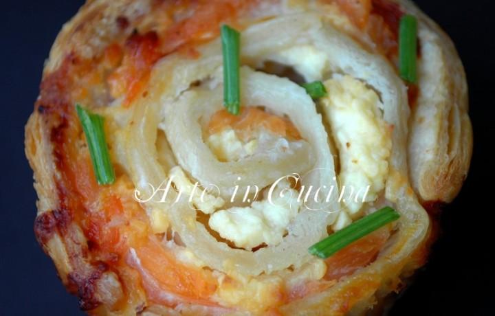 Antipasto veloce salmone e ricotta ricetta facile