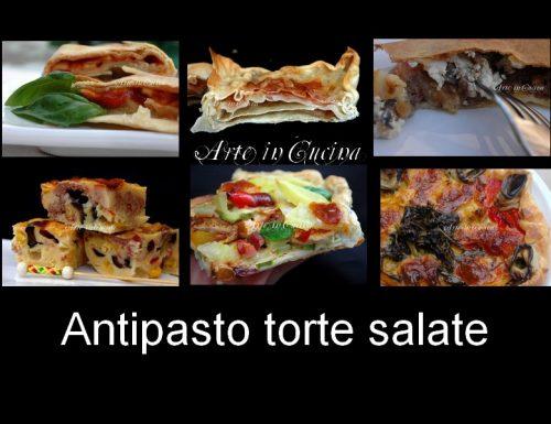 Menu pranzo Natale e vigilia 2012 antipasto torte salate