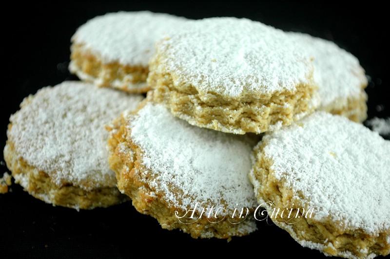 Biscotti algerini ricetta siciliana arte in cucina for Ricette dolci siciliani
