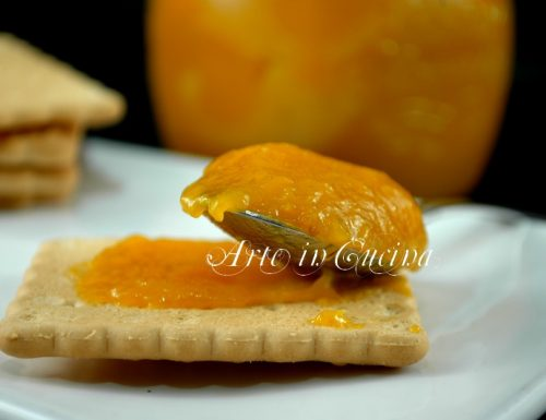 Marmellata di mandarini e zenzero