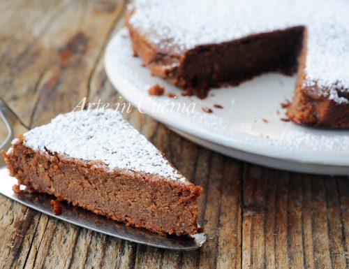 Migliaccio napoletano al cioccolato torta di semola