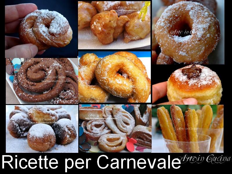 Ricette di carnevale dolci vickyart