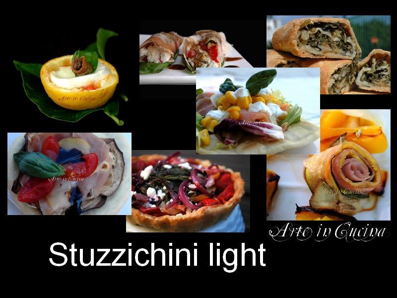 Ricette light stuzzichini vickyart