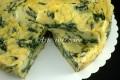 Tortino di spinaci ricotta e polenta ricetta facile