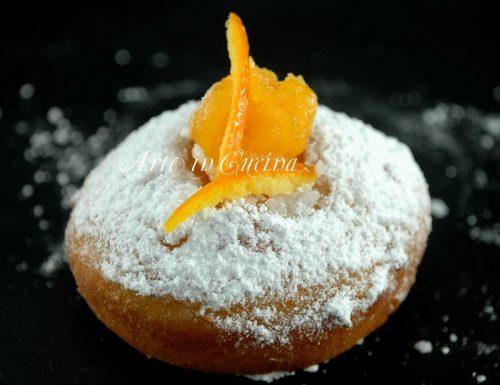 Bomboloni alla crema di arancia senza glutine