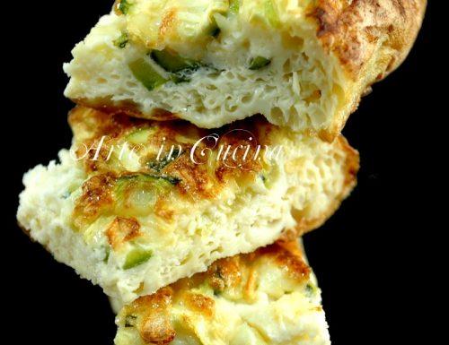 Frittata al forno con zucchine morbidissima e light