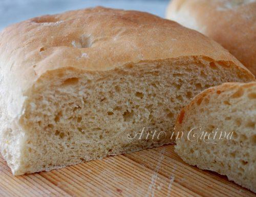 Pane toscano morbido ricetta facile