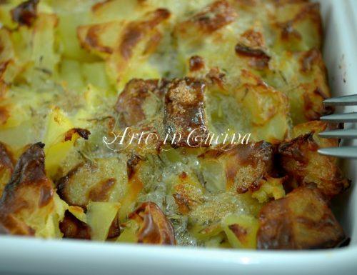 Patate al forno con ricotta ricetta veloce