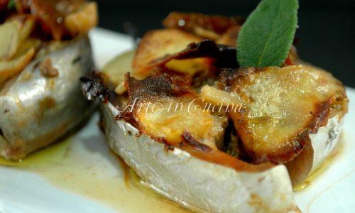 Tonno al forno in crosta di patate