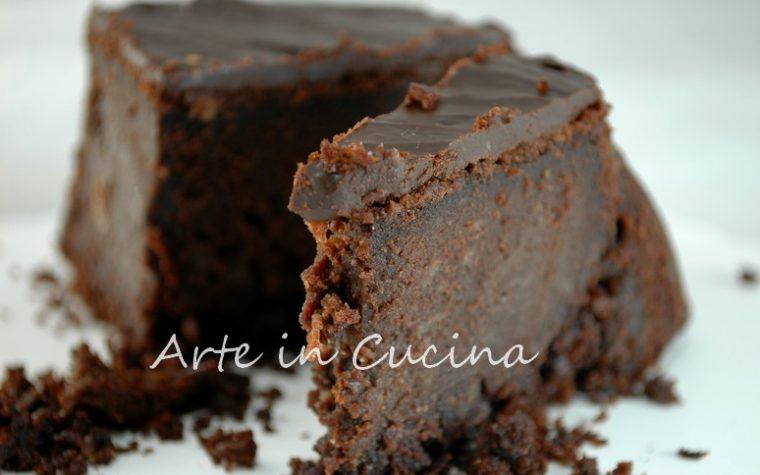Torta cacao e nutella con glassa ricetta golosa
