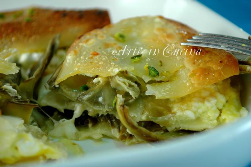 lasagna-carciofi-provola-4