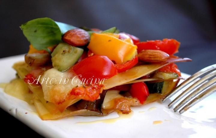 Lasagne con verdure e provola ricetta facile e saporita