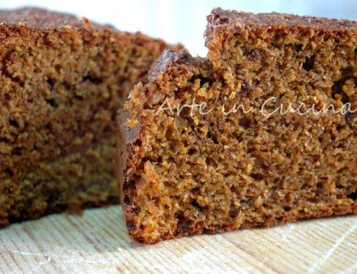 Pane dolce integrale carrot bread buonissimo