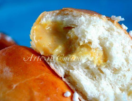 Panini soffici al latte crema arancia limone