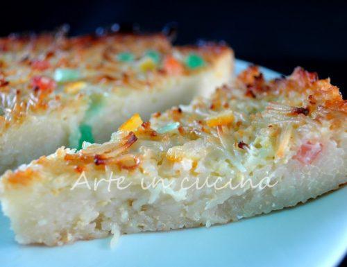 Pastiera di maccheroni pizza dolce ricetta di Pasqua
