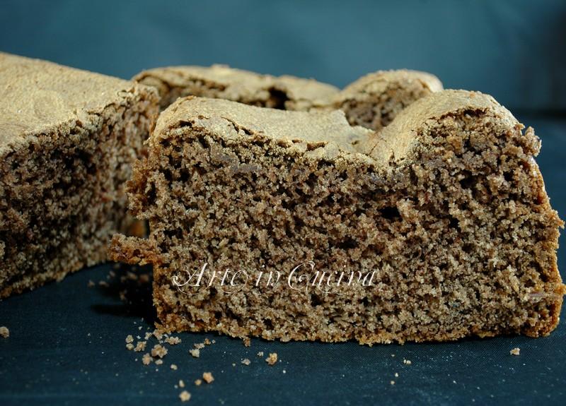 plumcake al cacao colazione ricetta arte in cucina