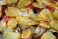 Patate con carciofi e scamorza al forno