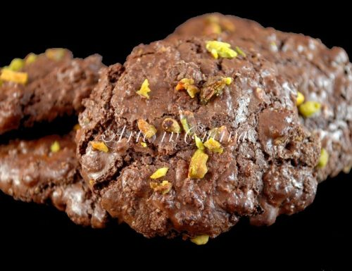 Biscotti al cioccolato senza burro e farina velocissimi