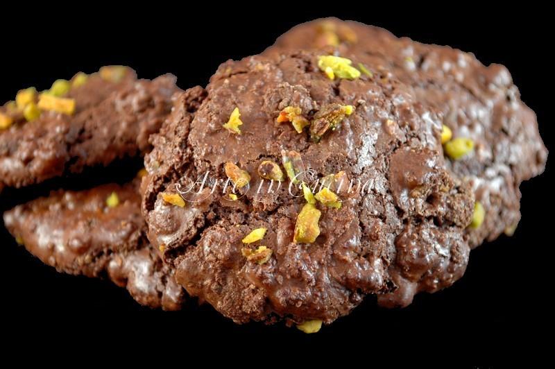 biscotti al cioccolato senza burro e farina ricetta arte in cucina