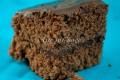 Torta moretta alla nutella con glassa al cioccolato