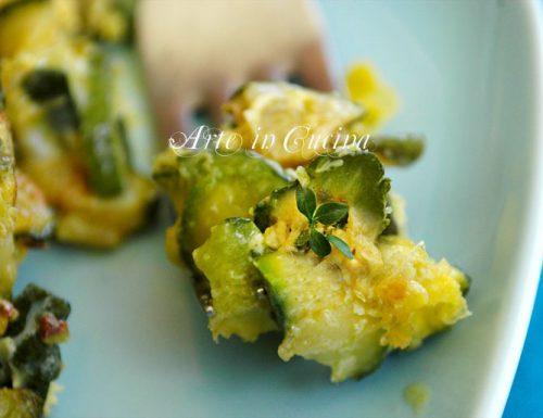 Frittata di zucchine al timo