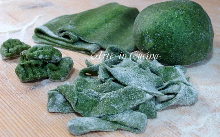 Sfoglia per pasta verde ricetta base
