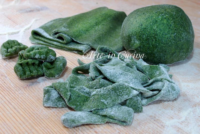 sfogli per pasta verde agli spinaci ricetta base arte in cucina