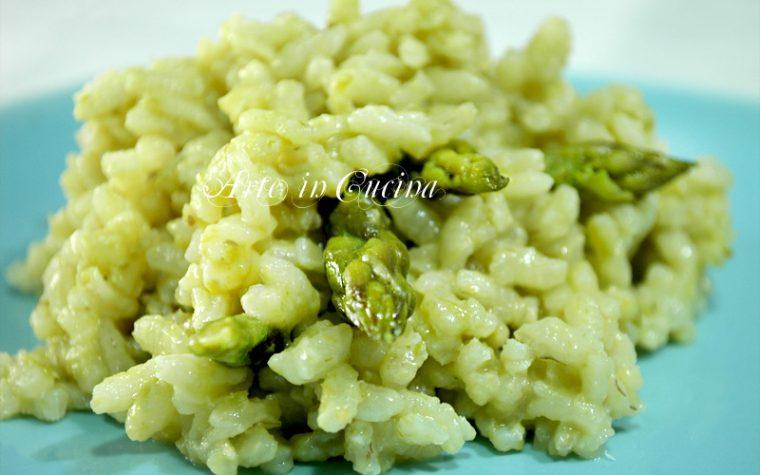 Risotto con asparagi ricetta veloce