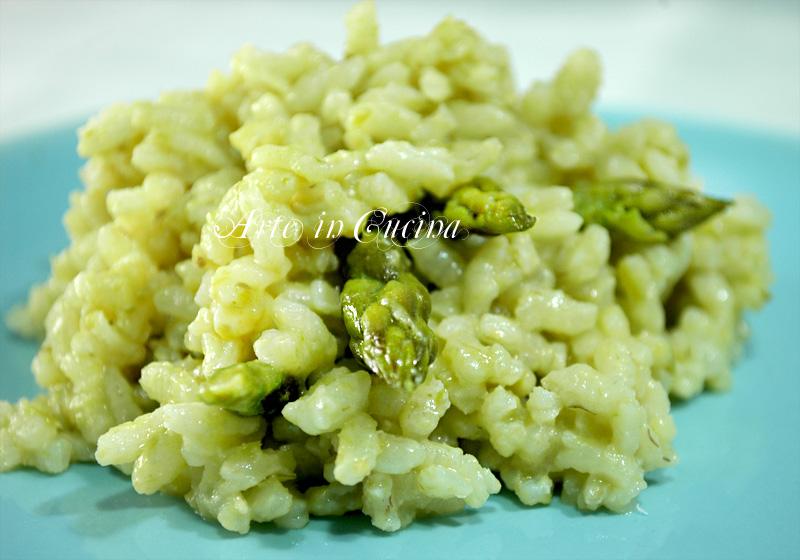 risotto con asparagi ricetta facile Arte in Cucina