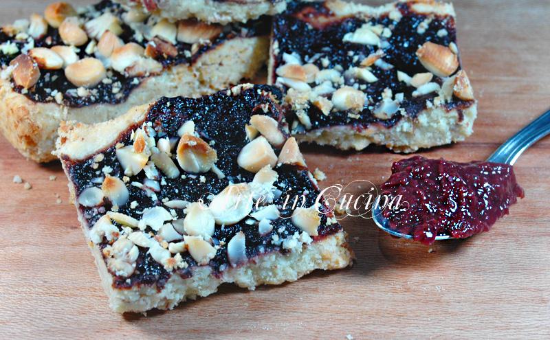 biscotti veloci alle mandorle e marmellata ricetta arte in cucina