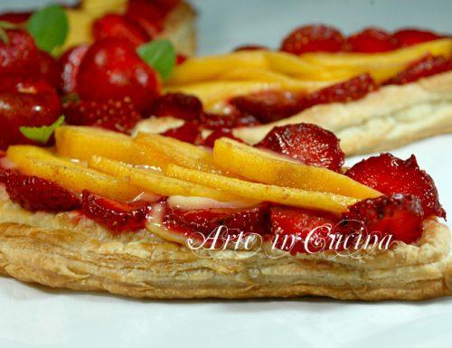 Crostata alla frutta con pasta sfoglia