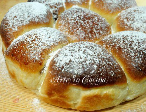 Danubio alla nutella ricetta dolce