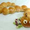 Bruco di pan brioche per feste di compleanno ricetta vickyart arte in cucina