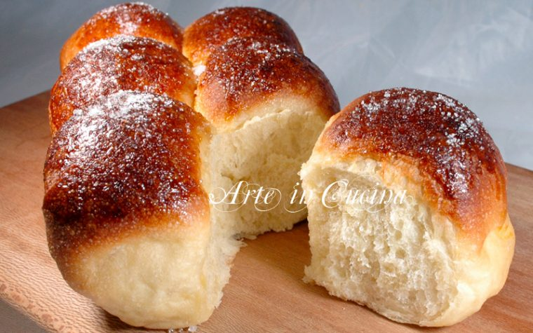 Pan brioche sofficissimo con pasta madre